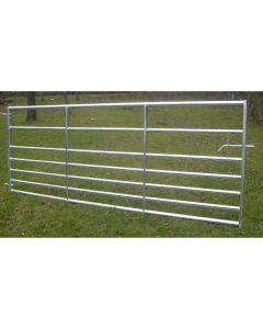 Bateman Century Gate 8'0 Pair - Throw over and Drop Bolt fastening