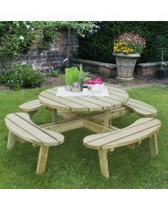 Forest Circular Picnic Table