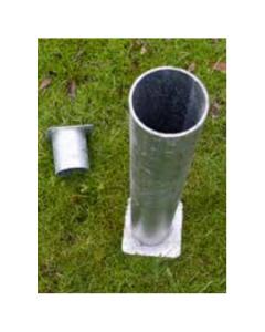 Bateman Ground Socket Circular 89mm x 610mm