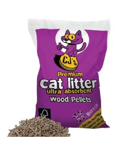 CJ's Wood Cat Litter 30L | Wynnstay Country Store