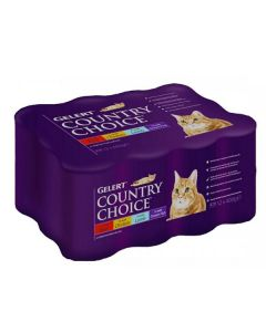 Country Choice Cat Tins