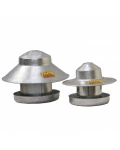 Galvanised Outdoor Poultry Feeder
