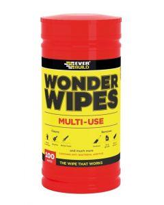 Everbuild Wonder Wipes 100 Pack