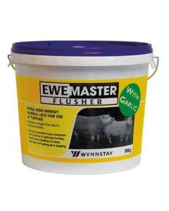 Ewemaster Flusher Bucket with Garlic 18kg