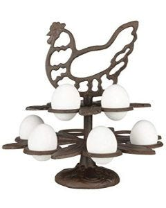 Fallen Fruits Cast Iron Egg Stand
