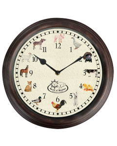 Farm Sounds Clock