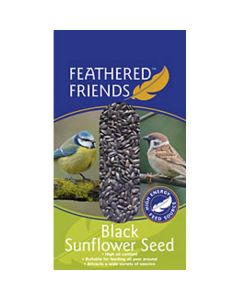 Feathered Friends Black Sunflower Seeds - 1kg