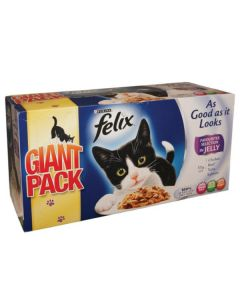 Felix 'As Good as it looks' Mixed Pack 44 x 100g