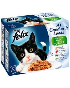 Felix As Good as it Looks Country Recipes 12 Pack