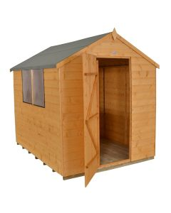 Shiplap Dip Treated Shed 6 x 8ft