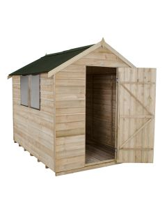 Forest Onduline Apex Shed - 6x8ft