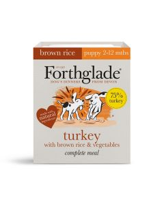 Forthglade Complete Puppy Turkey with Brown Rice 395g