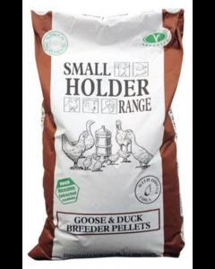 goose and duck breeder pellets
