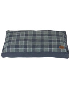 Grey Checker Rectangle Bed Collection