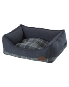 Grey Checker Square Bed Collection
