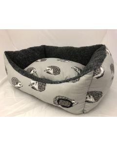 """Grey Hedgehog Rectangle Dog Bed 36"""""""