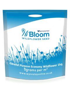 HiBloom Economy Wildflower Meadow Mix