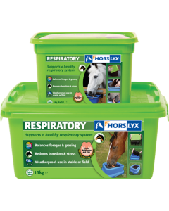 Horslyx Respiratory Stable Lick 15KG