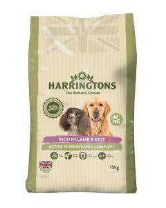 Harringtons Dog Active Worker Lamb 15kg