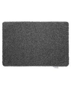 Hug Rug Plain Charcoal Door Mat