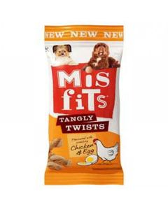 Misfits Tangly Twists Chicken 140g
