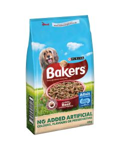Bakers Complete Dry Dog Food Beef & Vegetable 14kg