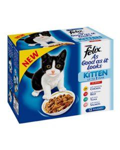 Felix As Good as it Looks Kitten 12 Pack