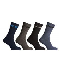 JCB Crew Navy Socks