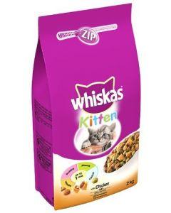 Whiskas Dry Chicken Kitten - 2kg