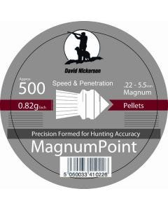 David Nickerson Magnum Point .22 Pellets