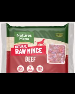 Natures menu beef mince