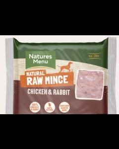 Natures Menu Chicken & Rabbit Mince