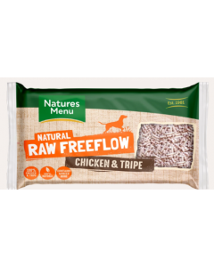 Freeflow chicken and tripe mince