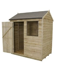Reverse Apex Overlap Shed 6 x 4ft