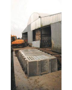 Pre-Cast Concrete Slatted Tanks