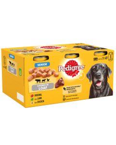 Pedigree Senior Dog Loaf Tin 6x400g
