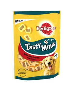Pedigree Tasty Minis Beef & Poultry 155g