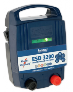 Rutland ESD 3200 Dual Powered Energiser