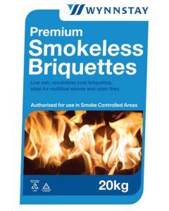 Wynnstay Premium Smokeless Briquettes 20kg