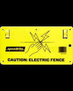 Speedrite Electric Fence Warning Sign (10pk)
