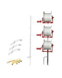 Speedrite 3 Reel Strip Grazing Kit, Sheep (Exc. Energiser)