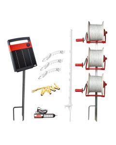 Speedrite 3 Reel Strip Grazing Kit, Sheep (Inc. S500 Energiser)