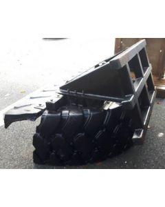Mensch Tyre Scraper 8FT Telehandler Bracket