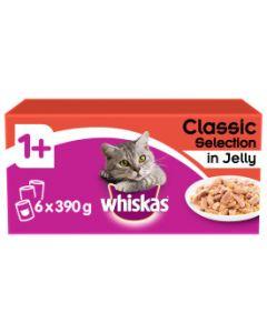 Whiskas Meat Tin 6x390g
