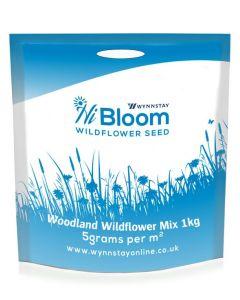 HiBloom Heavy Shade Woodland Wildflower Seed Mix