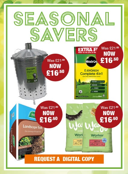 Seasonal Savers Offers